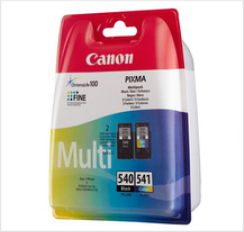 Genuine Canon PG-540 and CLI-541 Multipack Ink Cartridges -  Black & Colour - (PG540 - CL541) for Canon MX515