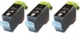 3 x Black Compatible with Canon BCI-3BK (BCI-3EBK)