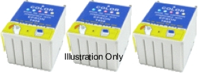 3 x Five Colour Epson T001 Compatible Ink Cartridges for Epson Stylus Photo 1200