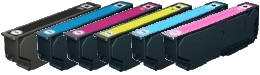 Epson T2438 Compatible Ink Cartridges - 1 Full Set 24XL (Elephant) for Epson XP-750