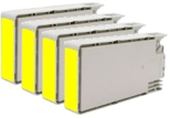 4 x Yellow Compatible with Epson T5594
